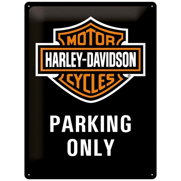 Metall-Schild ''Harley Parking Only''