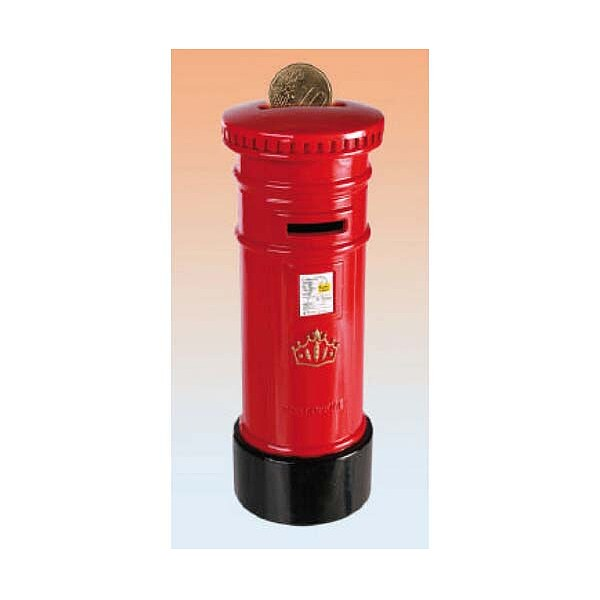 Metall Spardose Post Box