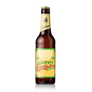 6er Bier-Box ''Happy Beersday''