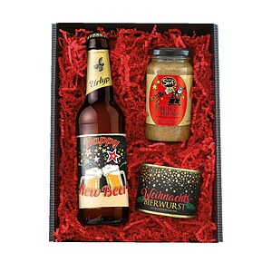 Geschenkset ''Happy New Beer''